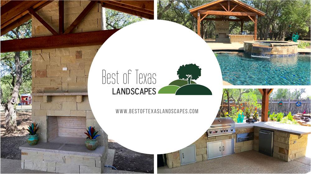 Outdoor Kitchen Builders Best of Texas Landscapes