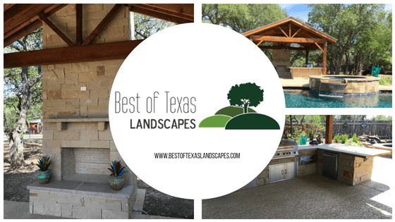Best of Texas Landscapes Outdoor Kitchen