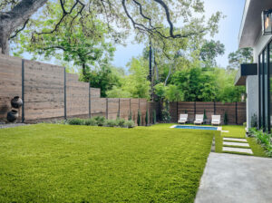 Best of Texas Landscapes backyard design and installation