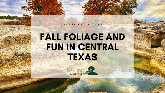 Fall foliage and fun in central Texas, Best of Texas Landscapes blog